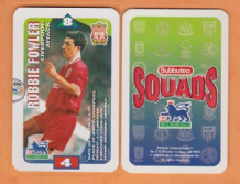 Liverpool Robbie Fowler England S97